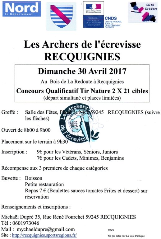Concours Nature le 30 avril 2017